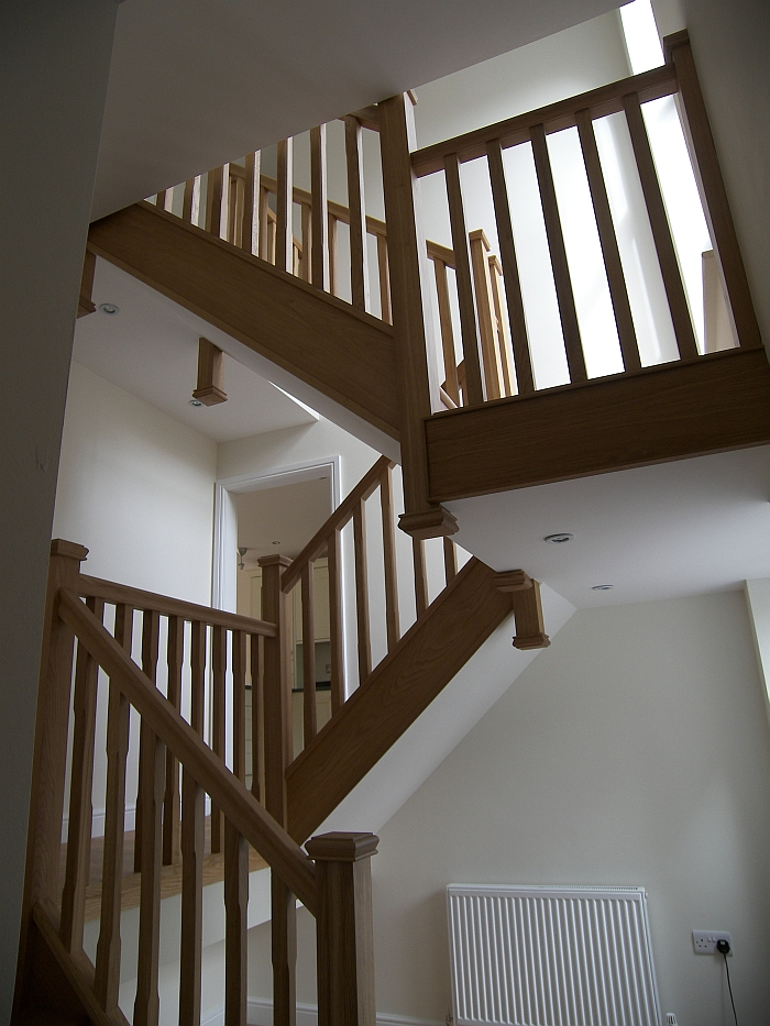 Knowledge Lan, Gomersal - internal staircase